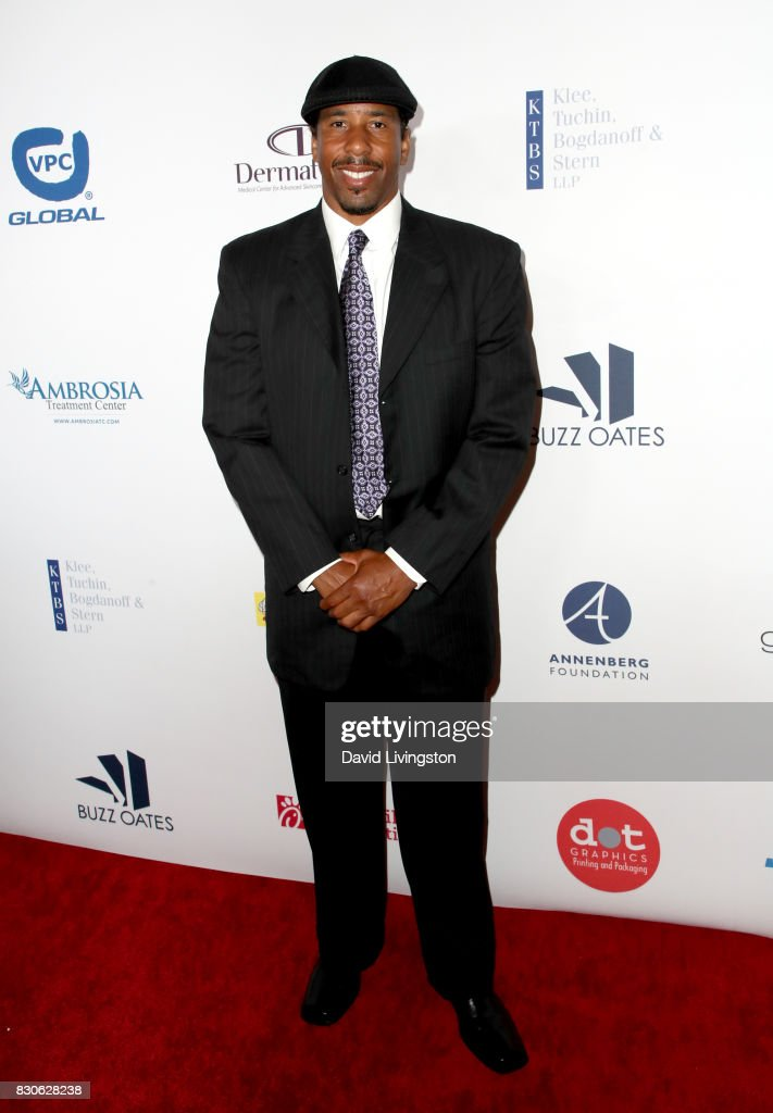 Andre Miller at the 17th Annual Harold & Carole Pump Foundation Gala at The Beverly Hilton Hotel on August 11, 2017 in Beverly Hills, California.
