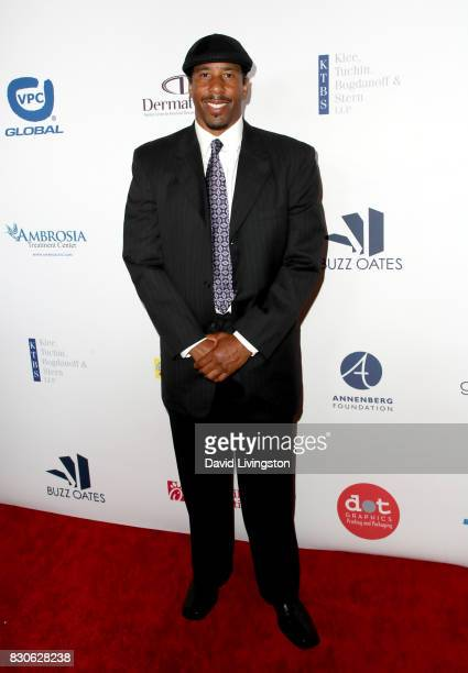 Andre Miller at the 17th Annual Harold Carole Pump Foundation Gala at The Beverly Hilton Hotel on August 11 2017 in Beverly Hills California