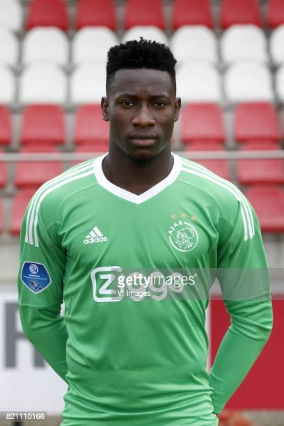 Andre Onana during the team presentation of Ajax on July 22 2017 at the at the Toekomst in Amsterdam The Netherlands
