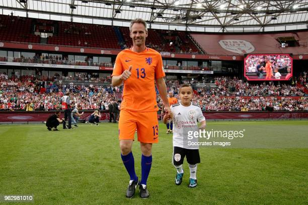 Andre Ooijer during the Dirk Kuyt Testimonial at the Feyenoord Stadium on May 27 2018 in Rotterdam Netherlands