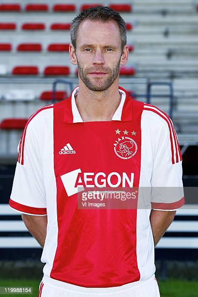 Andre Ooijer of Ajax poses during a photo call held at the Amsterdam Arena on July 25 2011 in Amsterdam Netherlands