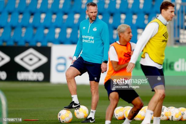 Andre Ooijer of PSV during the Training Camp PSV in Qatar on January 10 2019 in Doha Qatar