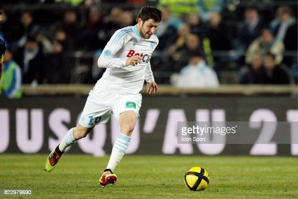 Andre Pierre GIGNAC Marseille / Arles Avignon 22e journee de Ligue 1