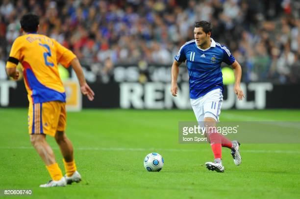 Andre Pierre GIGNAC France / Roumanie Qualification Coupe du Monde 2010 Stade de France Paris
