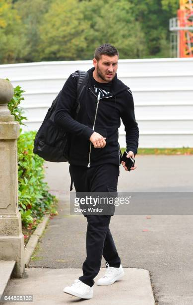 Andre Pierre GIGNAC Football Equipe de France Arrivee a Clairefontaine Photo Dave Winter / Icon Sport
