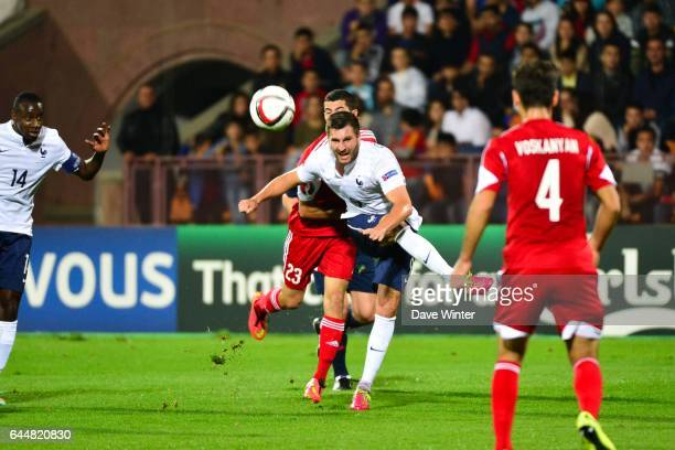 Andre Pierre GIGNAC Armenie / France Eliminatoires Euro 2016 Photo Dave Winter / Icon Sport