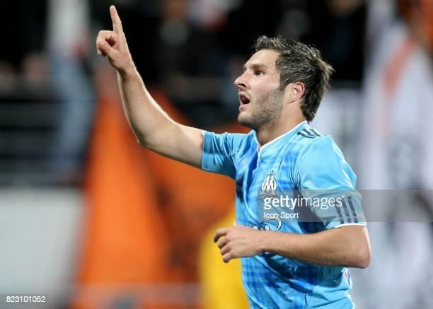 Andre Pierre GIGNAC Lorient / Marseille 36eme journee de Ligue 1