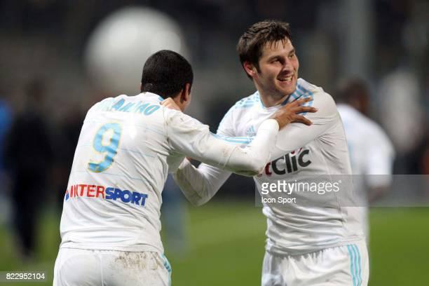 BRANDAO / Andre Pierre Gignac Marseille / Bordeaux 20eme journee de Ligue 1