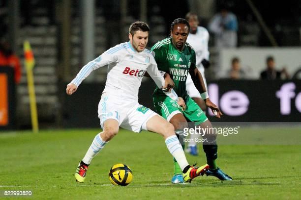 Andre Pierre GIGNAC Marseille / Saint Etienne 24eme journee de Ligue 1