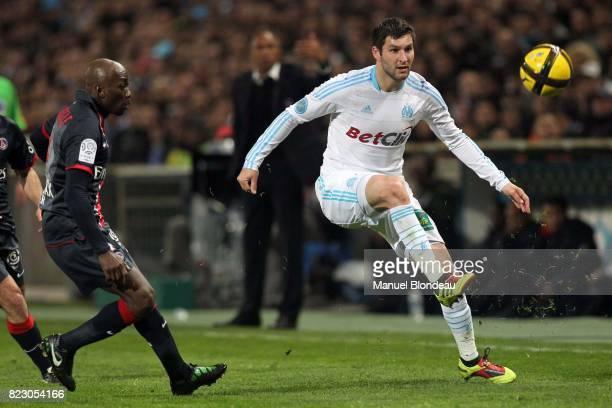 Andre Pierre GIGNAC Marseille / PSG 28eme journee de Ligue 1