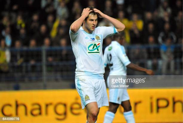 Andre Pierre GIGNAC Quevilly / Marseille 1/4Finale Coupe de France Photo Dave Winter / Icon Sport