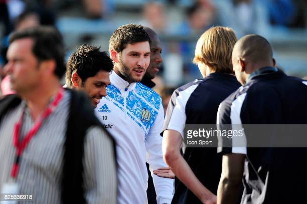 Andre Pierre GIGNAC Marseille / Udinese Match Amical Bayonne