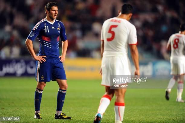 Andre Pierre GIGNAC Tunisie / France Match de preparation Stade du 7 Novembre Rades Tunisie