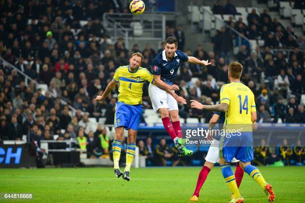 Andre Pierre GIGNAC / Andreas GRANQVIST France / Suede Match Amical Marseille Photo Dave Winter / Icon Sport