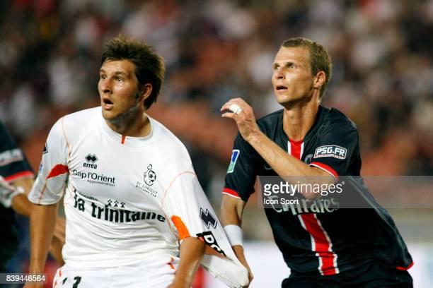Andre Pierre GIGNAC / David ROZENHNAL PSG / Lorient 1e journee Ligue 1