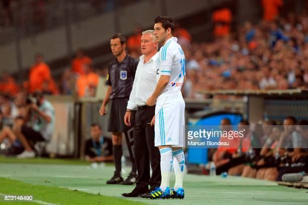 Andre Pierre Gignac / Didier Deschamps Marseille / Saint Etienne 3eme journee de Ligue 1
