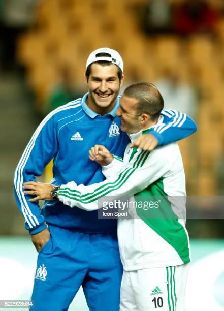 Andre Pierre GIGNAC / Laurent BATLLES û Saint Etienne / Marseille 8e journee de Ligue 1 Stade Geoffroy Guichard