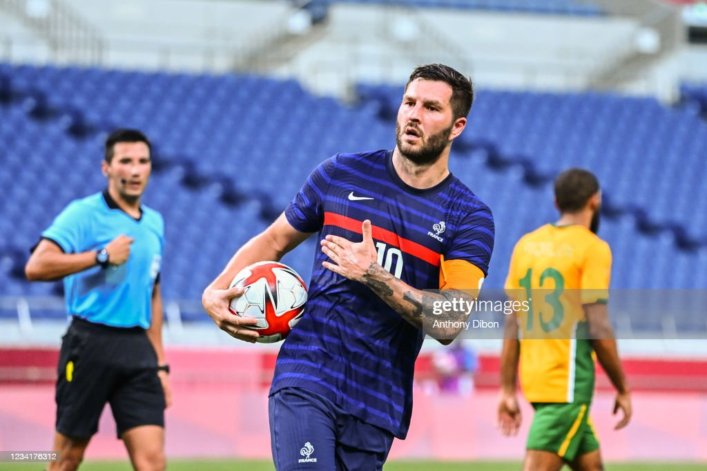 France v South Africa - Group A, Tokyo Olympic Games 2020 : News Photo
