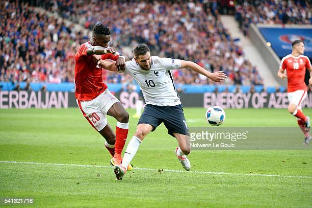 Andre Pierre Gignac of France during the UEFA EURO 2016 Group A match between Switzerland and France at Stade PierreMauroy on June 19 2016 in Lille...