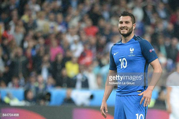 Andre Pierre Gignac of France during the UEFA Euro 2016 Quarter Final between France and Iceland at Stade de France on July 3 2016 in Paris France