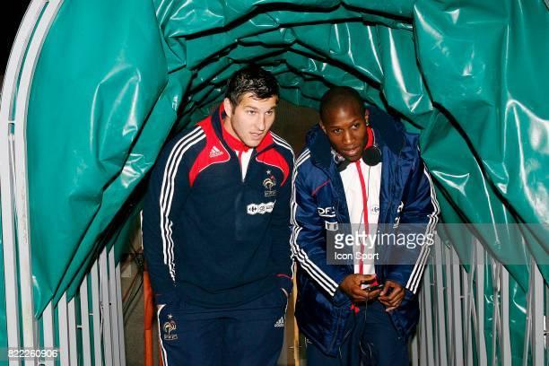Andre Pierre GIGNAC / Rod FANNI Lituanie / France Eliminatoires Coupe du Monde 2009 Stade Darius et Gerinas Kaunas