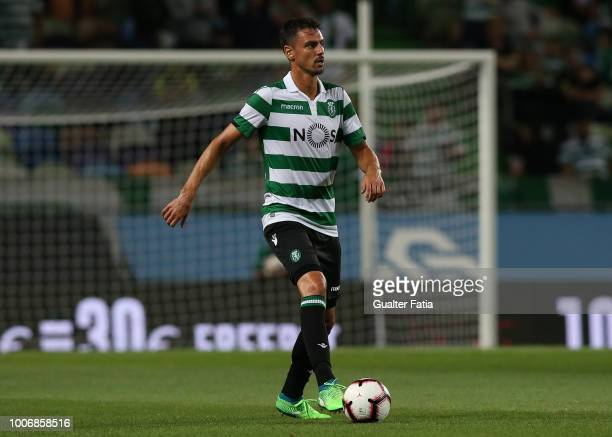 Andre Pinto from Sporting CP in action during the PreSeason Friendly match between Sporting CP and Olympique de Marseille at Estadio Jose Alvalade on...