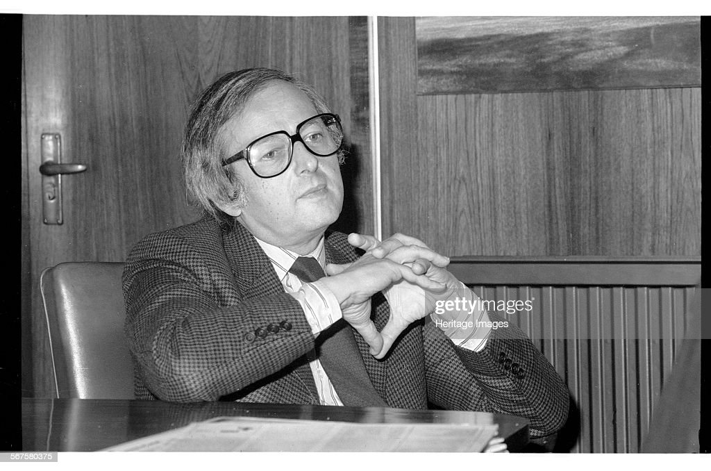 Andre Previn, London, 1985 : News Photo