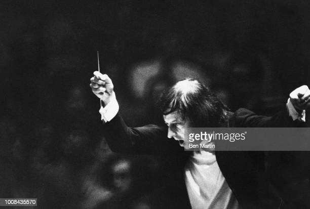Andre Previn The Good Company conducting in performance 1974