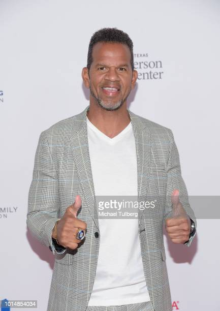 Andre Reed attends the 18th Annual Harold and Carole Pump Foundation Gala at The Beverly Hilton Hotel on August 10 2018 in Beverly Hills California