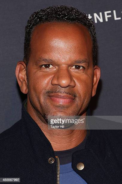 Andre Reed attends the NFL Inaugural Hall of Fashion Launch Event at Pillars 37 on September 16 2014 in New York City