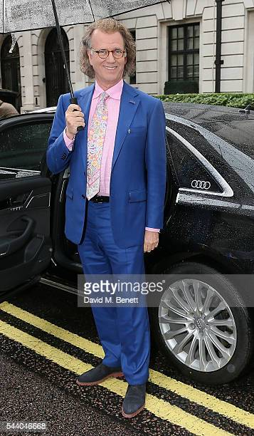 Andre Rieu arrives at the Nordoff Robbins O2 Silver Clef Awards at The Grosvenor House Hotel on July 1 2016 in London England