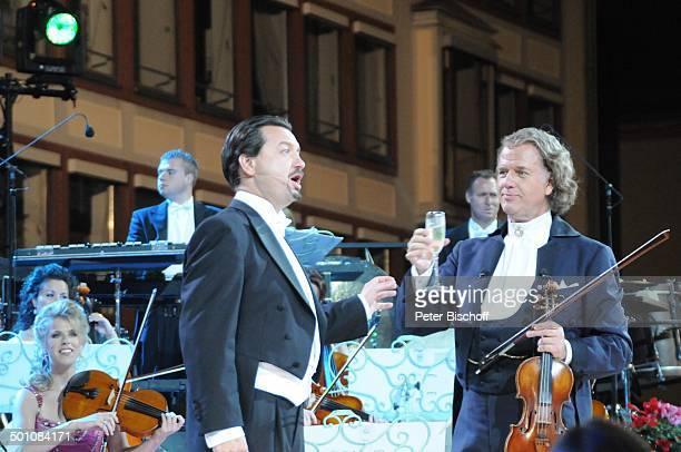 Andre Rieu Bela Mavrak Mitglieder vom 'Johann Strauß'Orchester ZDFMusikshow 'Ich habe mein Herz an Heidelberg verloren' beim Heidelberger...