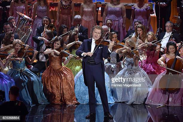 Andre Rieu during the tv show 'Heiligabend mit Carmen Nebel' on November 23 2016 in Munich Germany The show will air on December 24 2016