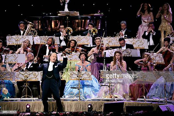 Andre Rieu performs Live with his Johann Strauss Band 2010 World Tour on April 24 2010 in Sun City South Africa