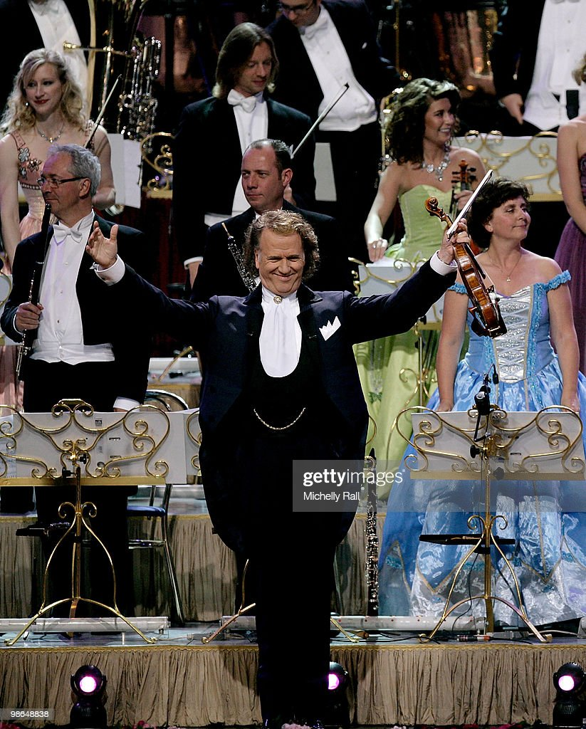Andre Rieu Performs At Sun City