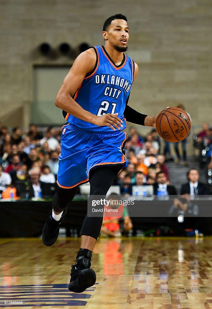 FC Barcelona Lassa v Oklahoma City Thunder - NBA Global Games Spain 2016 : News Photo