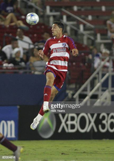 Andre Rocha of the FC Dallas defends the ball during the match against the Colorado Rapids, July 19, 2008 at Pizza Hut Park in Frisco, Texas.