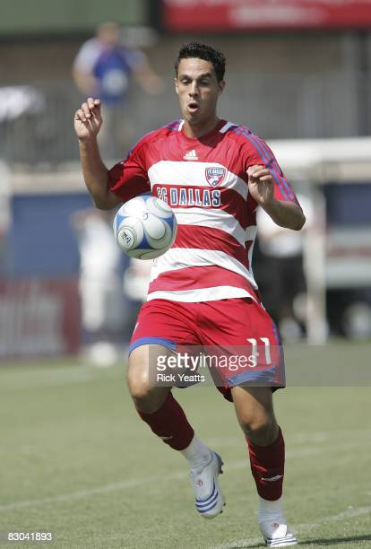 Andre Rocha of the FC Dallas defends the ball during the match against the DC United on September 28, 2008 at Pizza Hut Park in Frisco, Texas.