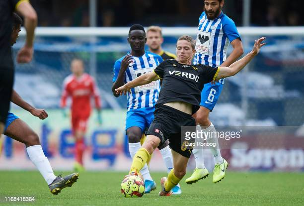 Andre Romer of Randers FC in action during the Danish 3F Superliga match between Esbjerg fB and Randers FC at Blue Water Arena on September 15, 2019...