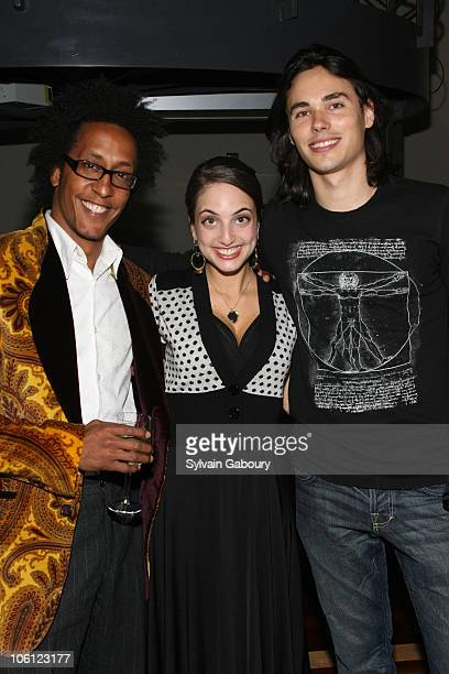 Andre Royo Alexa Ray Joel and Ben Jelen during The 3rd Annual Ten O'Clock Classics Gala Event at Tribeca Rooftop at 2 Desbrosses Street in New York...