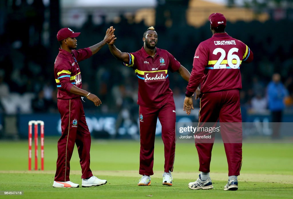 ICC World XI v West Indies - T20 : News Photo