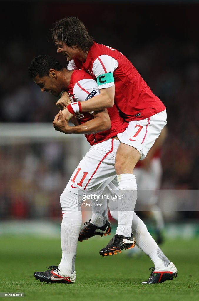 Arsenal FC v Olympiacos FC - UEFA Champions League : ニュース写真
