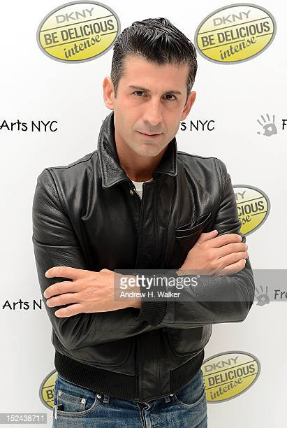Andre Saraiva attends an evening of art fragrance music and emotion for the unveiling of DKNY Be Delicious INTENSE hosted by Veronique GabaiPinsky...
