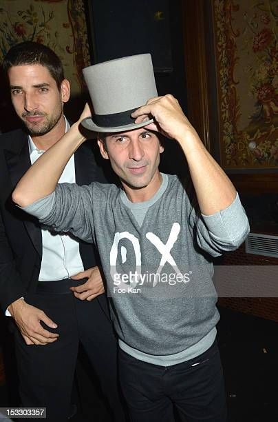 Andre Saraiva attends LE BAL hosted by MAC and Carine Roitfeld as part of Paris Fashion Week Spring / Summer 2013 at Hotel Salomon de Rothschild on...