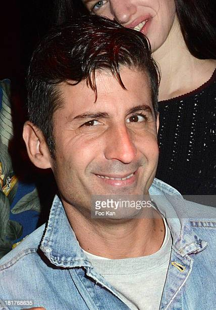 Andre Saraiva attends the 'Haute Performance' By Andre Saraiva After Party At Le Baron on September 24 2013 in Paris France