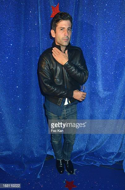 Andre Saraiva attends the Jalouse 15th Anniversary Party Spring / Summer 2013 show as part of Paris Fashion Week at Salle Wagram on September 29 2012...