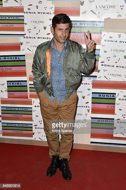 Andre Saraiva attends the Sonia Rykiel Lancome Paris Party as part of Paris Fashion Week on July 6 2016 in Paris France