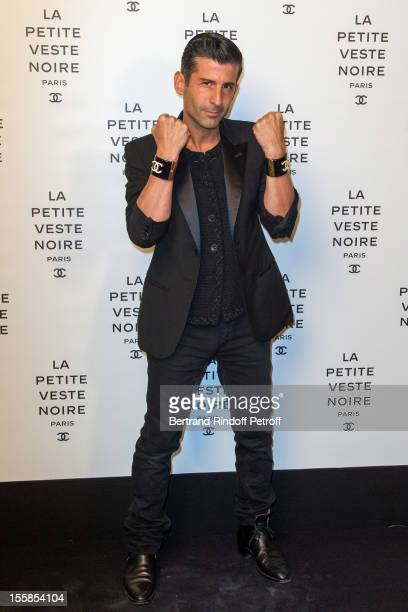 Andre Saraiva coowner of Paris famed nightclub 'Le Baron' attends 'La Petite Veste Noire' Book Launch Hosted By Karl Lagerfeld Carine Roitfeld at...