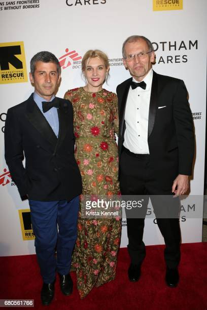 Andre Saraiva Jackie Swerz and John Lawrence attend Gotham Cares hosts Inaugural Gala Fundraiser for the Syrian Humanitarian Crisis to benefit the...