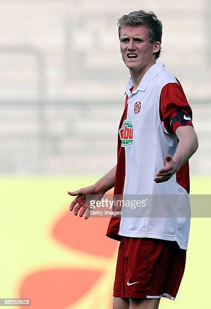 Andre Schuerrle of FSV Mainz 05 U19 during the A Juniors Semi Final first leg match between FSV Mainz 05 and Werder Bremen at the Bruchweg stadium on...